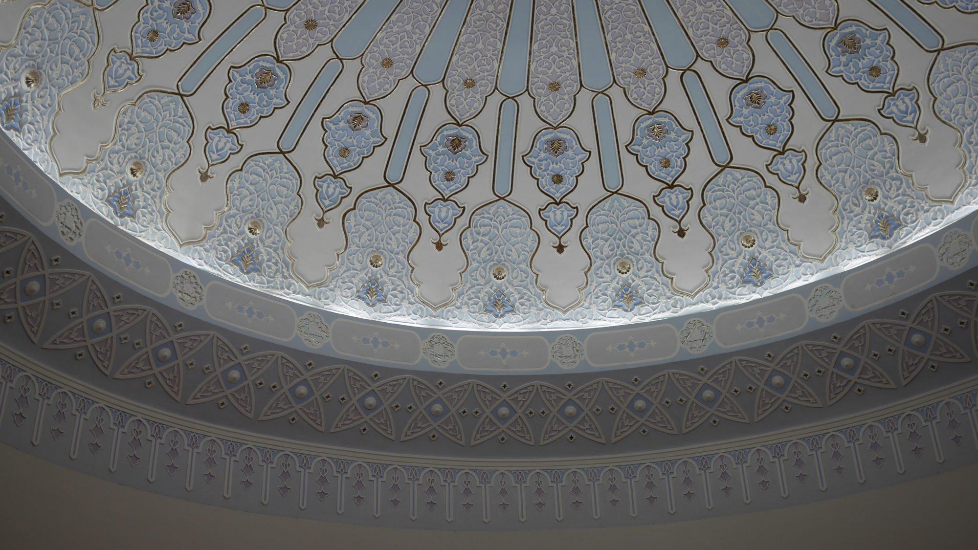 モスクの様なドーム状の天井その3