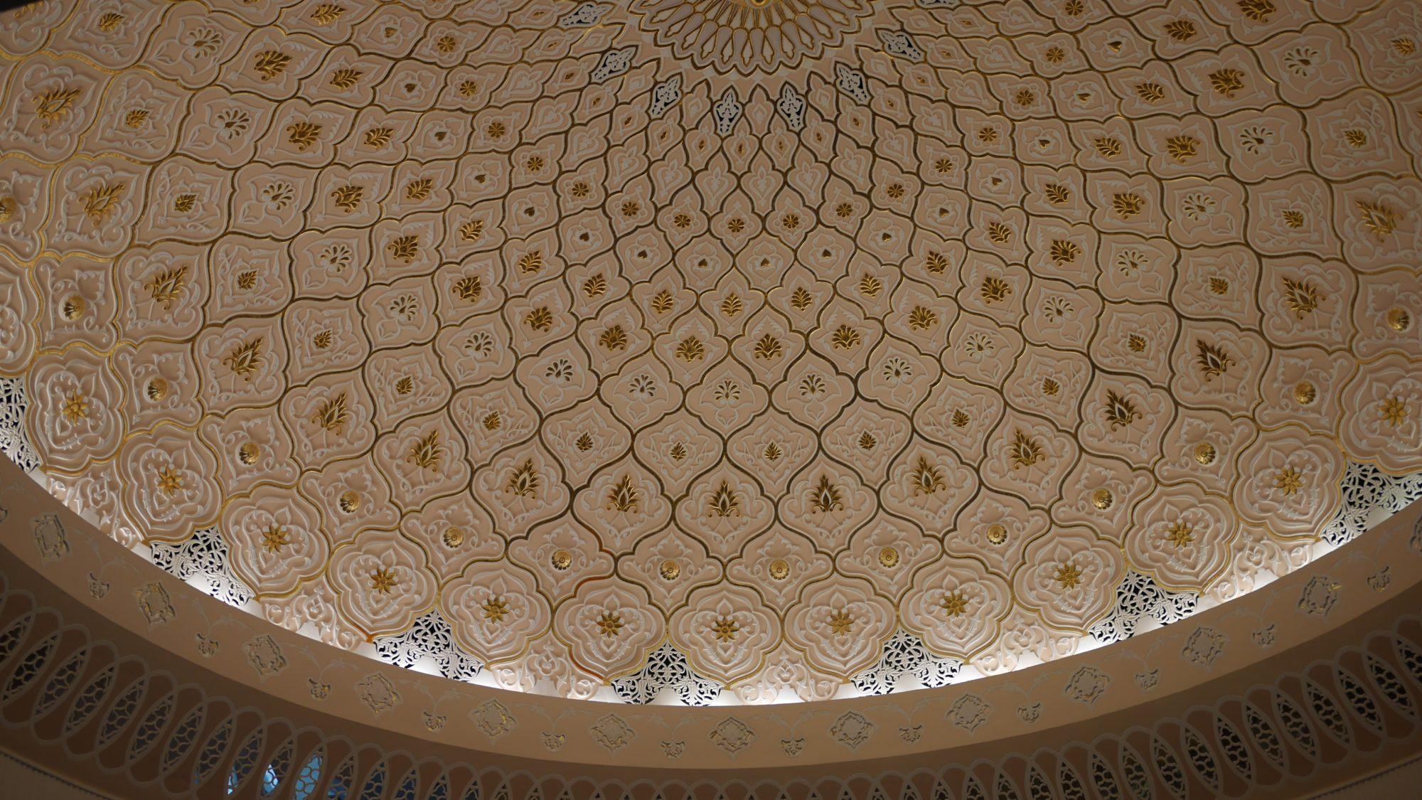 モスクの様なドーム状の天井その2