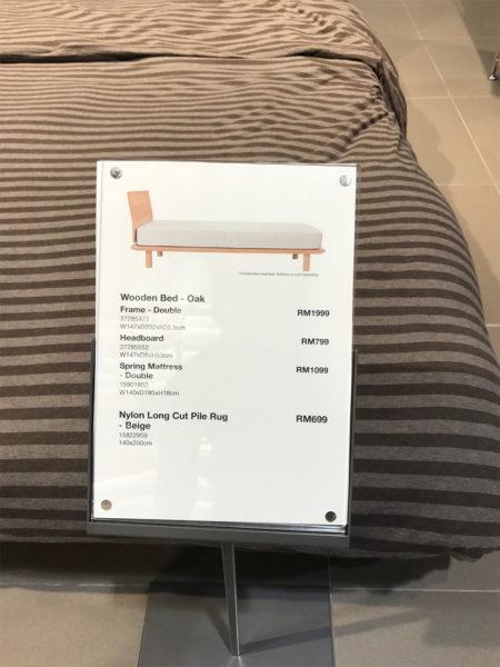 このベッドを購入しました